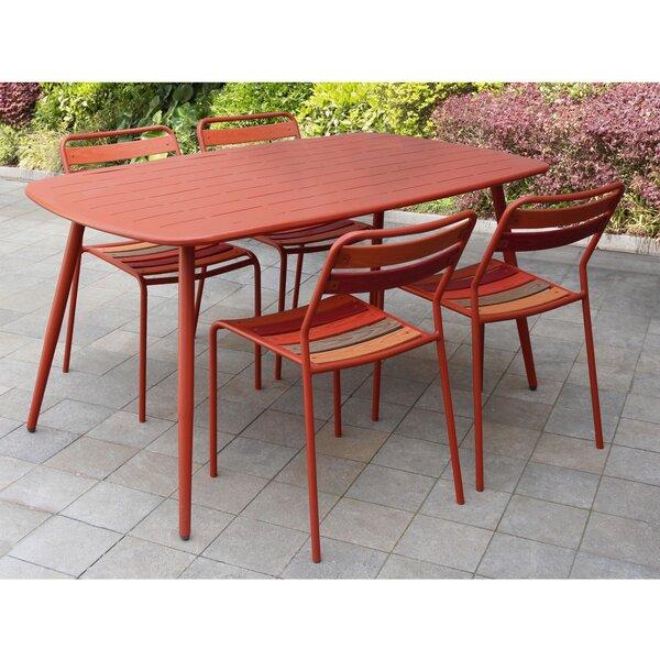 Lugo 5 Piece Dining Set by Ebern Designs