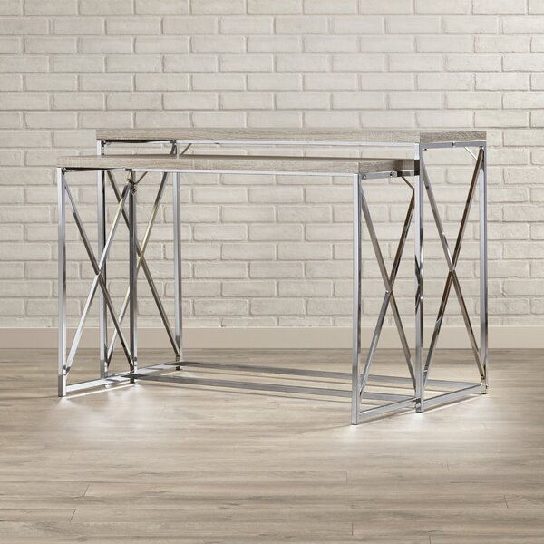 Balog 2 Piece Console Table Set by Mercury Row