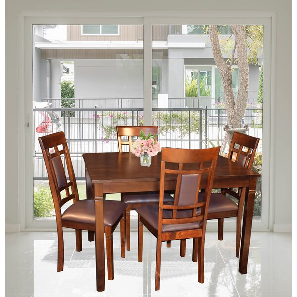 Corlett 5 Piece Dining Set By Winston Porter Herry Up