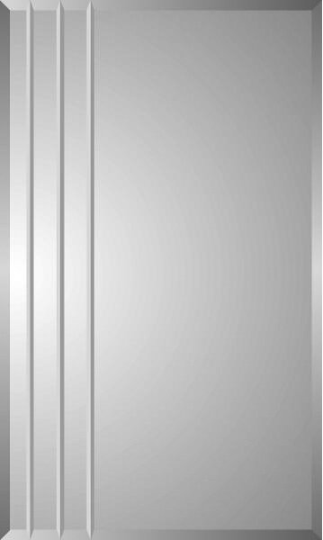 Lablanc 16 x 26 Recessed Medicine Cabinet with 6 Adjustable Shelves
