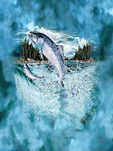 Indigo King Salmon Blanket by Millwood Pines