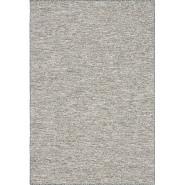 Faircloth Gray Indoor/Outdoor Area Rug by Wrought Studio