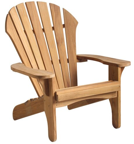 Atlantic Wood Adirondack Chair by Douglas Nance