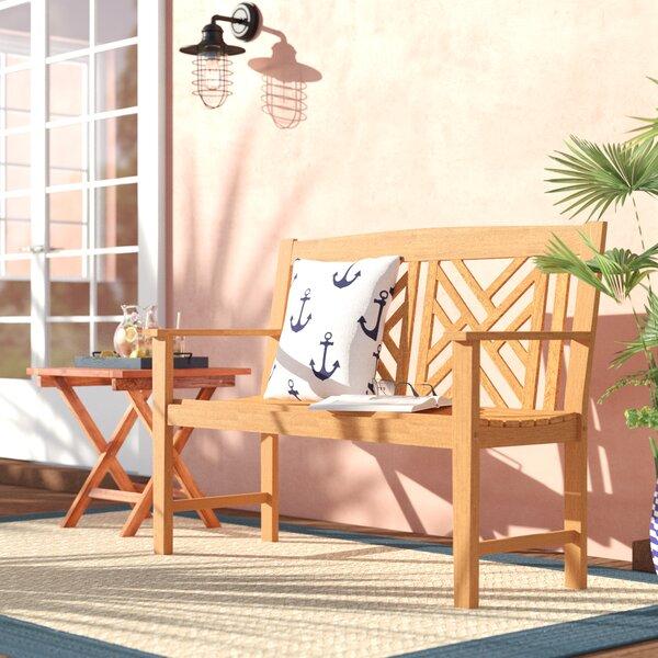 Katia Eucalyptus Garden Bench by Beachcrest Home