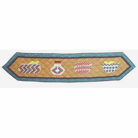 Indian Baskets Table Runner by Patch Magic
