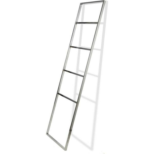 Stainless Steel 5.5 ft Decorative Ladder by Orren Ellis