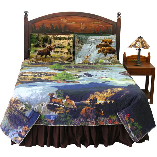 Flatiron Wilderness Galore Quilt Set by Millwood Pines