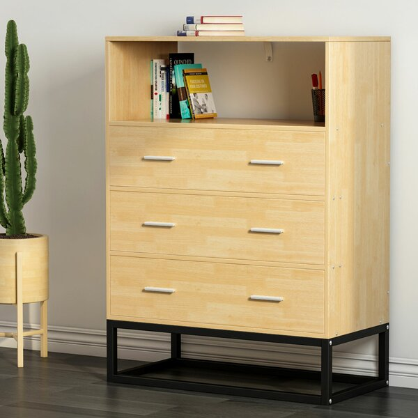Winston 3 Drawer Chest by Ebern Designs