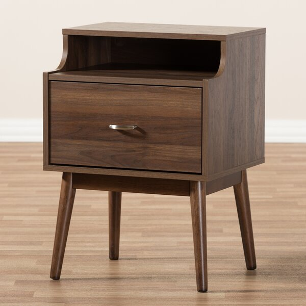 Alana 1 Drawer Nightstand by Modern Rustic Interiors