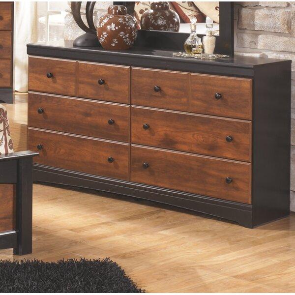 Ignacio 6 Drawer Double Dresser by August Grove