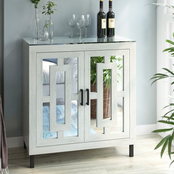 Whitmore Bar Cabinet With Wine Storage By Union Rustic