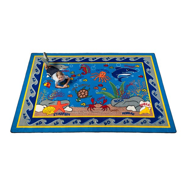 Fish in the Sea Area Rug by Kid Carpet
