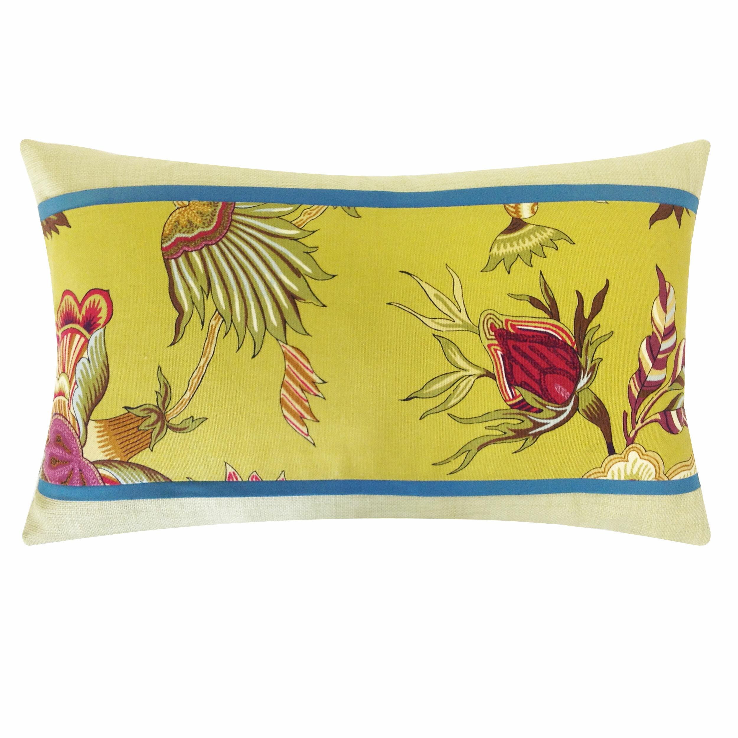 Jiti Jazmine Pieces Cotton Lumbar Pillow Wayfair