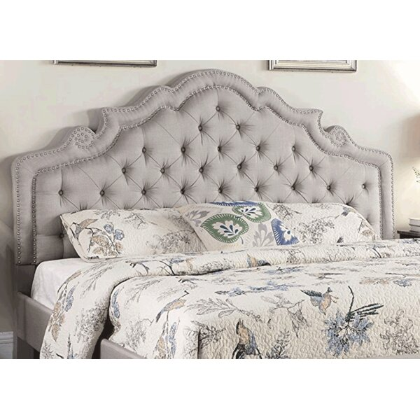 Boyden Victoria Upholstered Platform Bed by House of Hampton