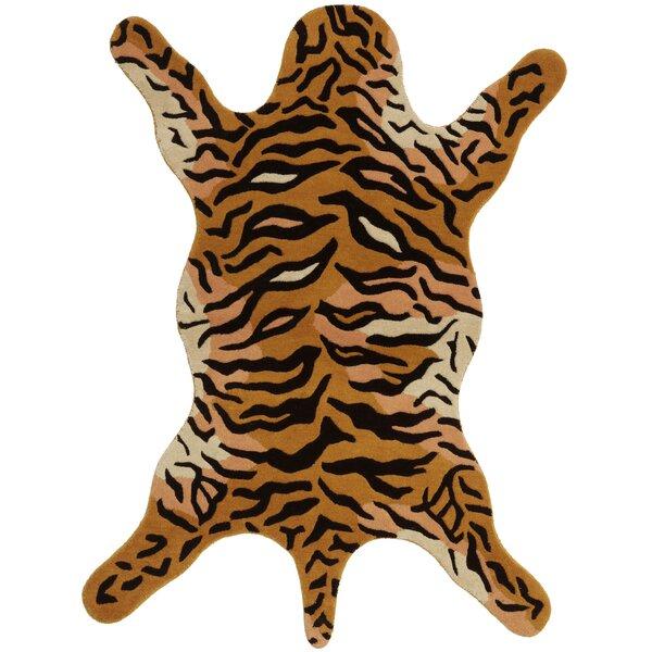 Safari Orange Tiger Area Rug by St. Croix