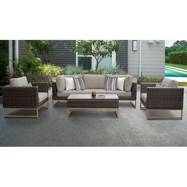 Mcclurg 6 Piece Sofa Seating Group with Cushions by Darby Home Co