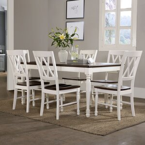 Tanner 7 Piece Dining Set by Beachcrest Home