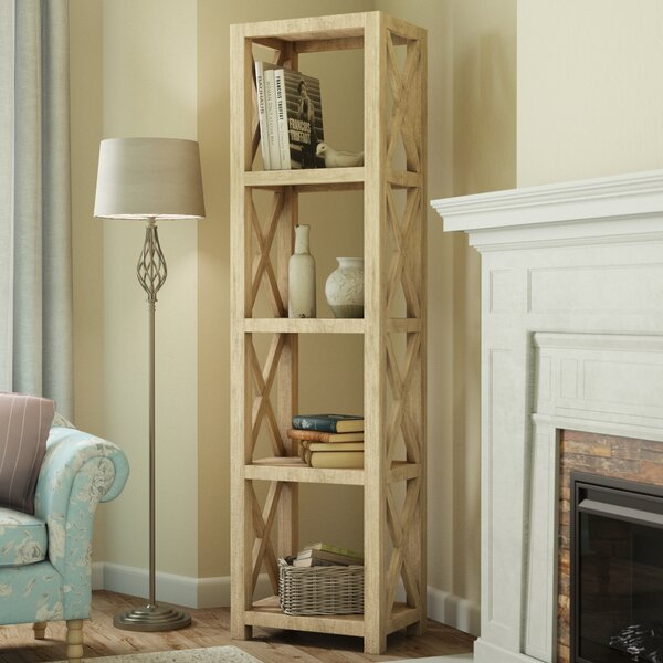 Mae Etagere Bookcase by August Grove