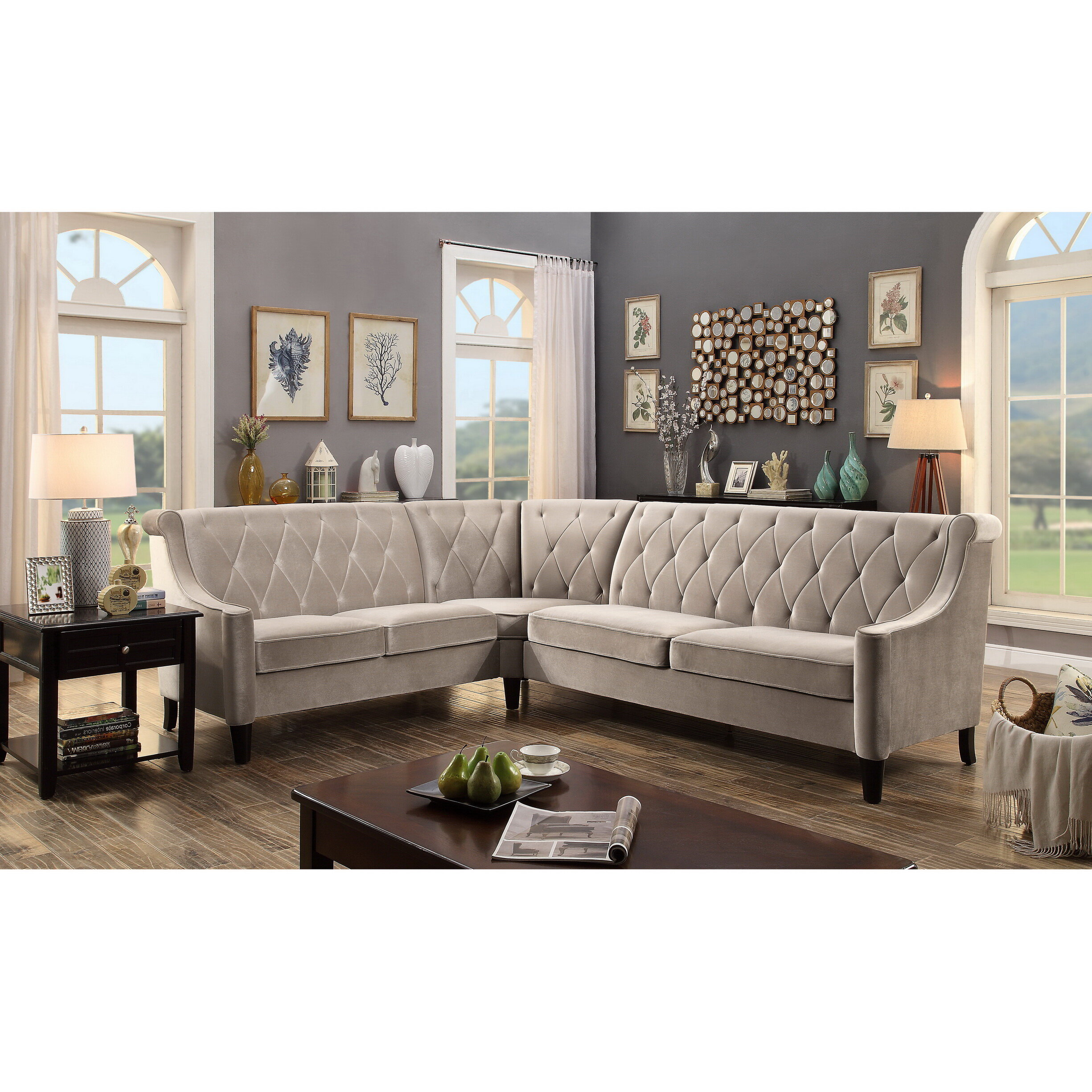 Superbe Willa Arlo Interiors Buchanan Sectional U0026 Reviews | Wayfair