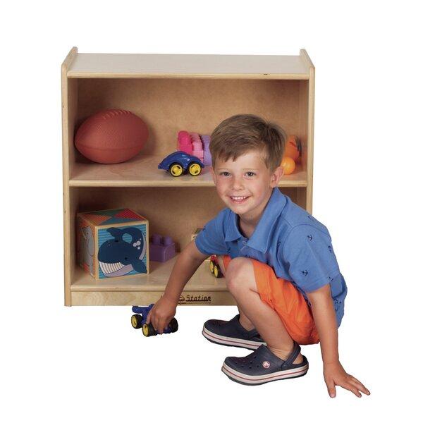 Mini Preschool 2 Compartment Shelving Unit by Kids' Station