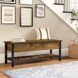 55 Inch Storage Bench | Wayfair