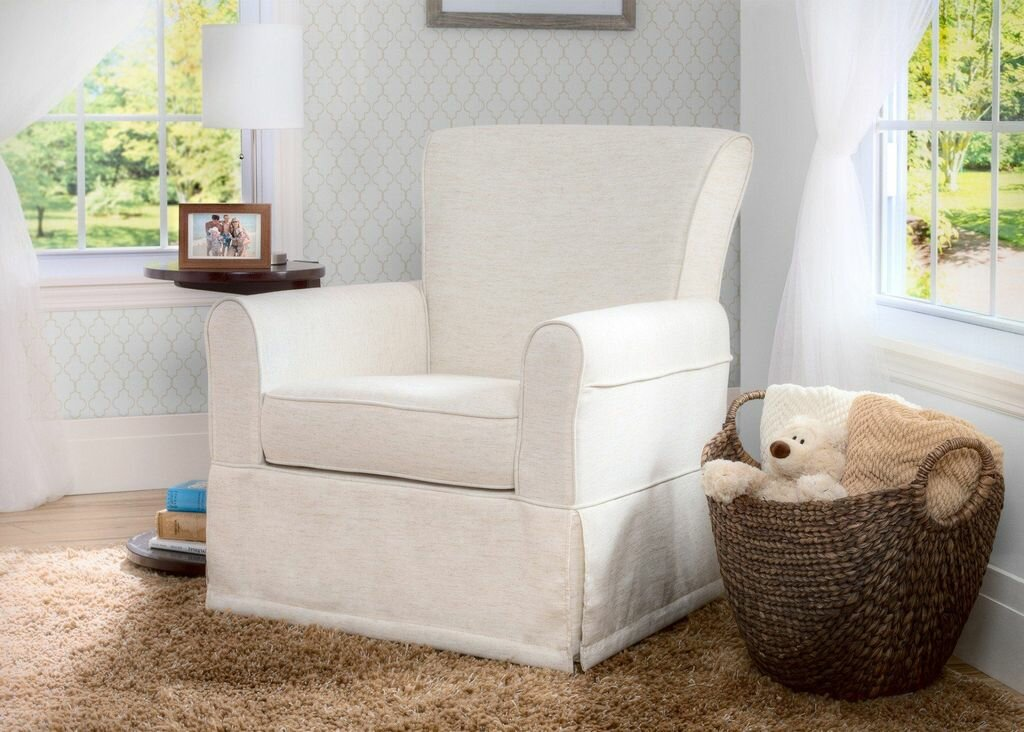 Wayfair Swivel Glider Chair: Delta Children Epic Swivel Glider & Reviews