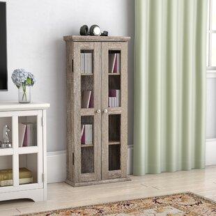 Wood DVD Multimedia Cabinet