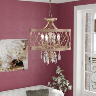 Great Price Cece 4-Light Chandelier By Willa Arlo Interiors