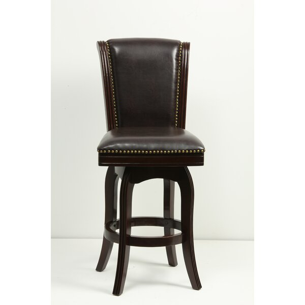 Kobe 29 Swivel Bar Stool by Charlton Home