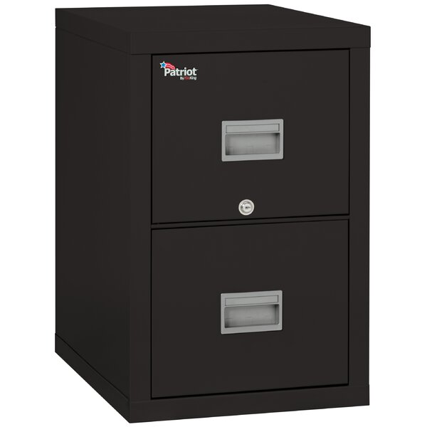 Patriot 2 Drawer Vertical Filing Cabinet by FireKingPatriot 2 Drawer Vertical Filing Cabinet by FireKing