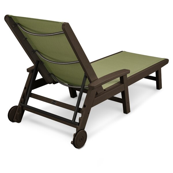 Coastal Chaise Lounge by POLYWOOD®