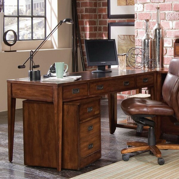 Danforth Keyboard Tray Writing Desk by Hooker Furniture