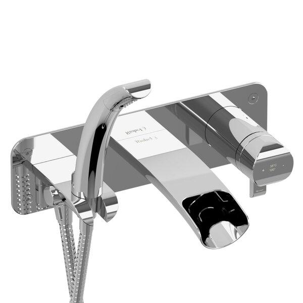 Salom Single Handle Wall Mounted Roman Tub Faucet by Riobel Riobel