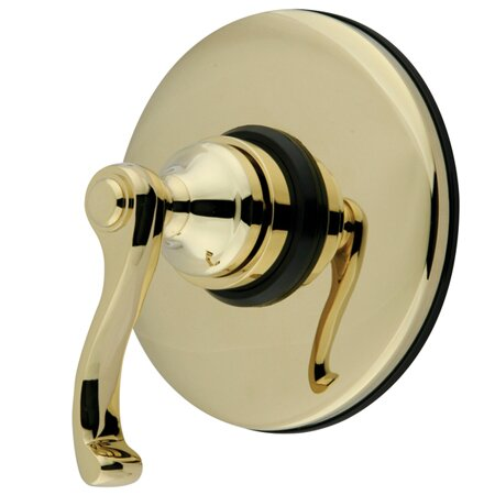 Vintage Wall Volume Control Valve by Kingston Brass