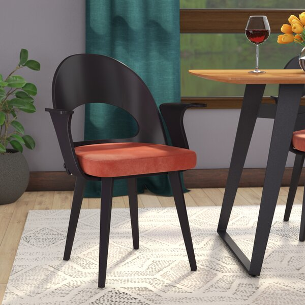 Gilmer Upholstered Dining Arm Chair By Langley Street™
