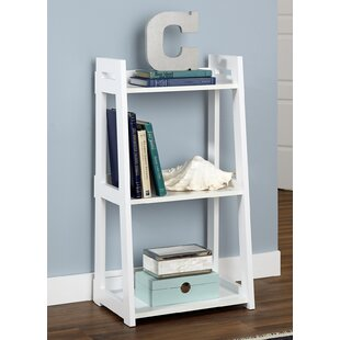 White Bookcase Narrow