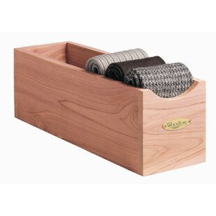 Read Reviews Socks Solid Wood Cube (Set of 2) By Woodlore