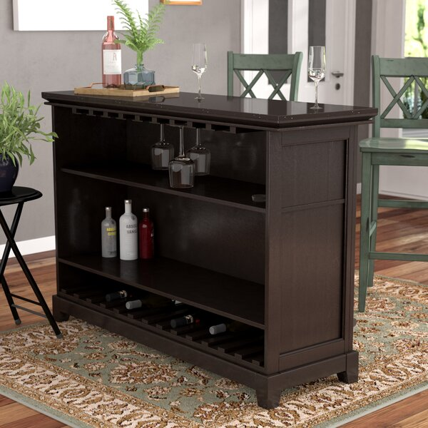 Groveland Bar with Wine Storage by Darby Home Co