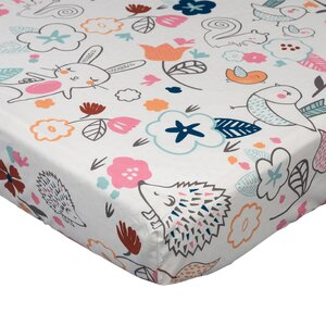 Stella Fitted Crib Sheet