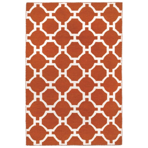 Assisi Tile Hand Woven Red Indoor/Outdoor Area Rug by Liora Manne