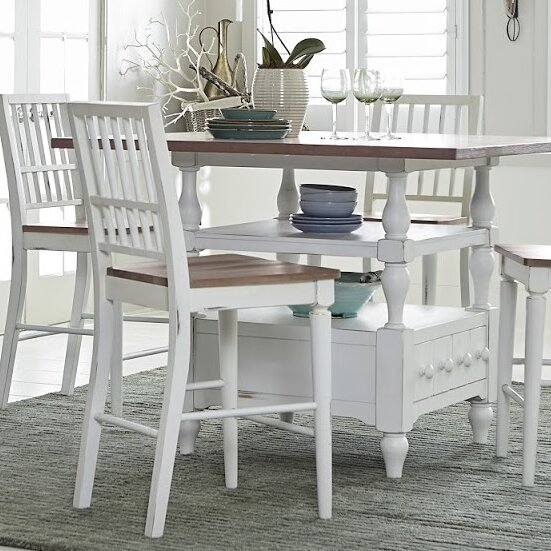 Pineville Counter Height Dining Table by Rosecliff Heights