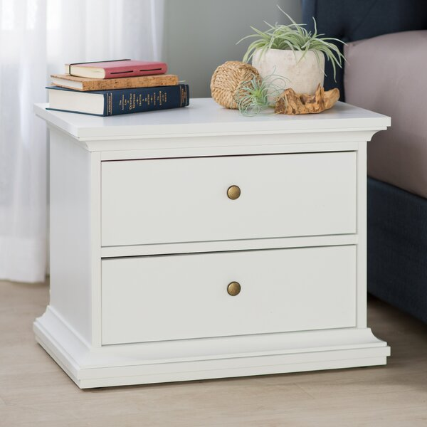 Breckenridge 2 Drawer Nightstand by Beachcrest Home