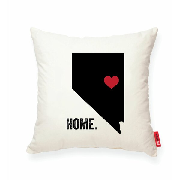 Pettry Nevada Cotton Throw Pillow by Wrought Studio
