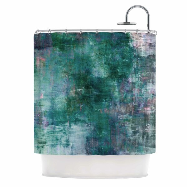 East Urban Home Ebi Emporium Planet Shower Curtain