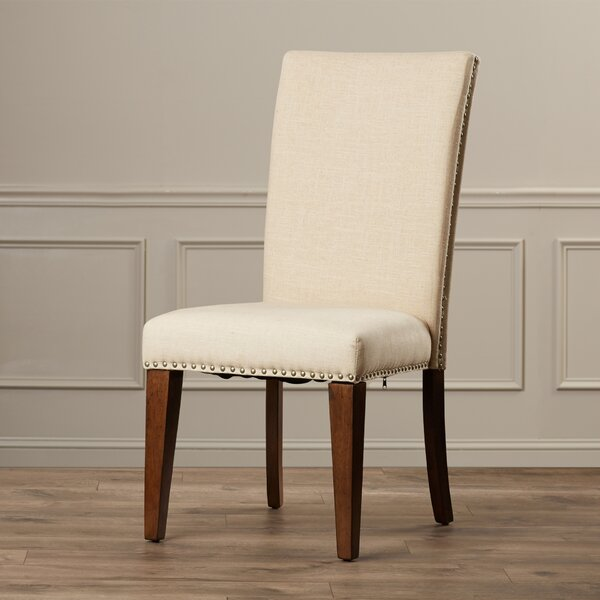 Pearse Upholstered Parsons Chair (Set of 2) by Alcott Hill