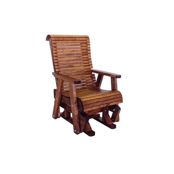 Pottorff High Back Glider Chair by Loon Peak