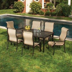 sweeten 7 piece outdoor dining set - Outdoor Set