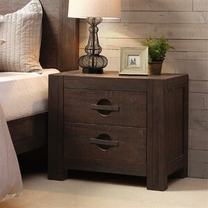 Monterey 2 Drawer Nightstand by INK+IVY