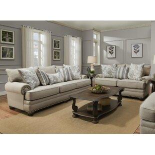 Mcbrayer Trendz Faith 2 Piece Standard Living Room Set by Canora Grey