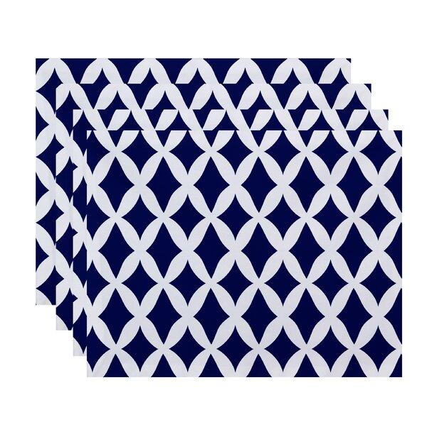 Keshawn Geometric Placemat (Set of 4) by Latitude Run